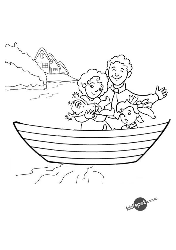 family-in-a-boat